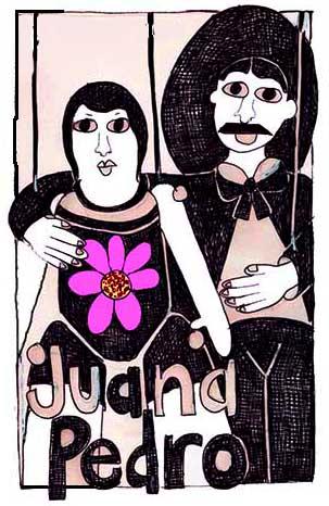 Juana y Pedro