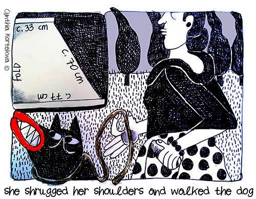 Claire McCardell, shoulder shrug