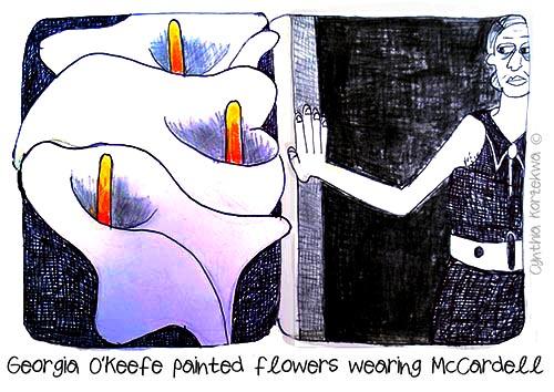 Claire McCardell & Giorgia O'Keefe