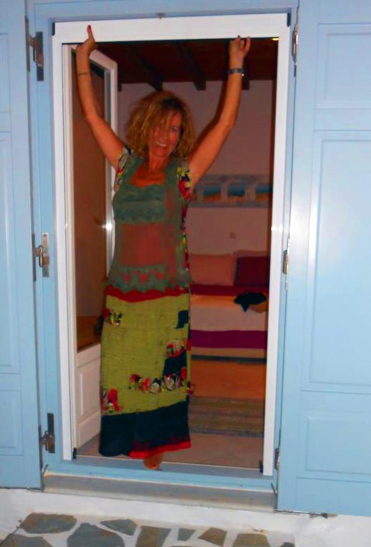 Carine Lègeret wearing Muy Marcottage
