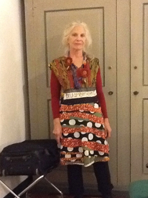 Janet Cooper Wearing Muy Marcottage