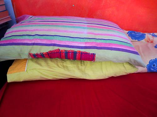 Mended Pillowcase